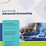 Advanced accounting sia publishers 2020-2021 bcom ou (CBCS)