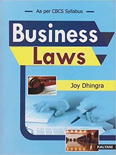 business law Kalyani osmania university