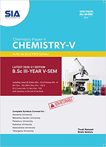 chemistry paper - 5 ou ourstudys