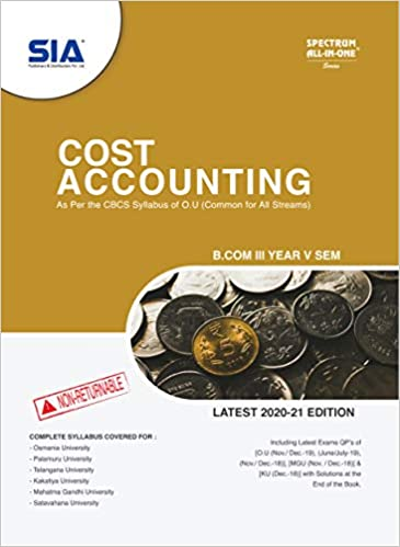 cost accounting by sia