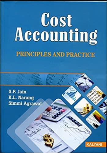 cost accounting kalyani