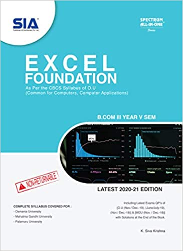 Excel foundations ourstudys