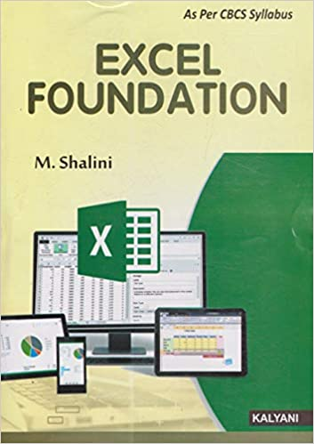 Excel foundations kalyani 2018