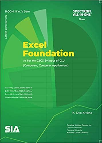 Excel foundations 2019