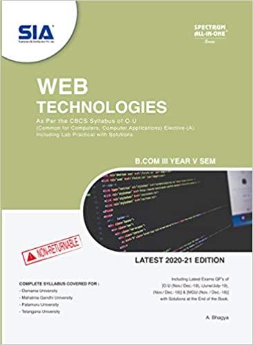 web technologies sia 2021 ourstudys