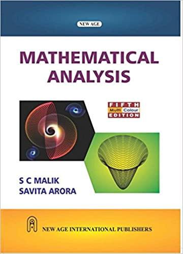 Maths real analysis new age international cbcs ou