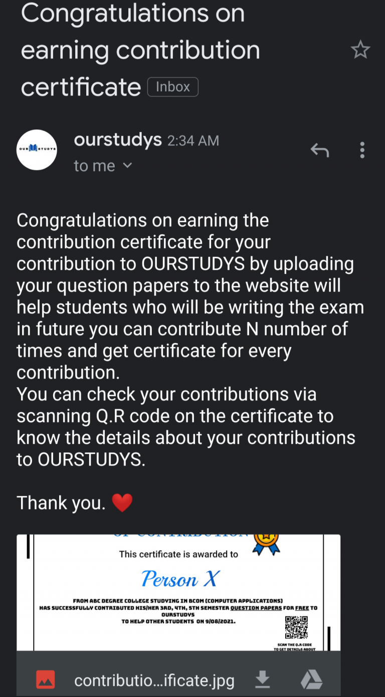 contribution 1